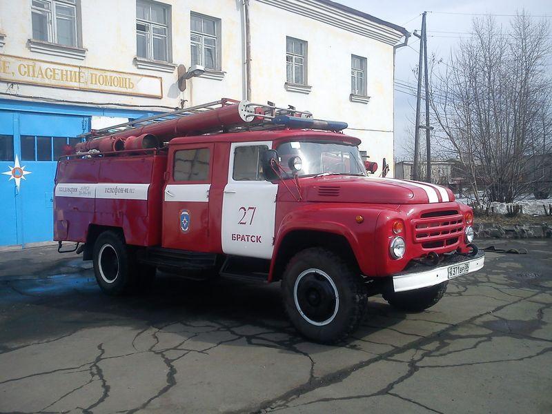 Один день в пожарной части 27